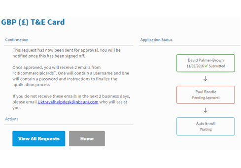 Citi Application Status >> How To Apply For A Citibank T E Card Nbcuniversal Travel